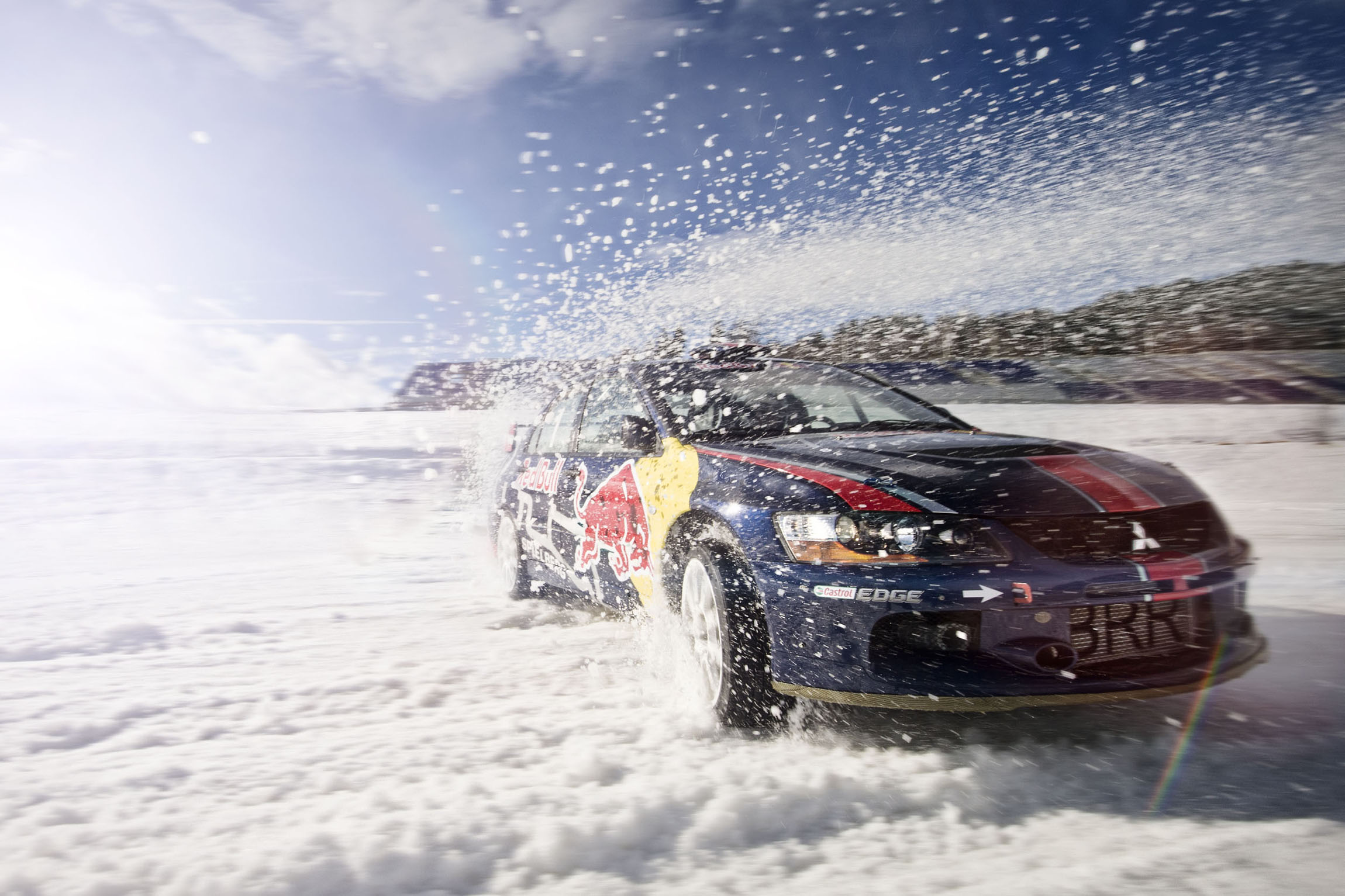 Winter am Ring Fahrtraining © Philip Platzer Red Bull Content Pool